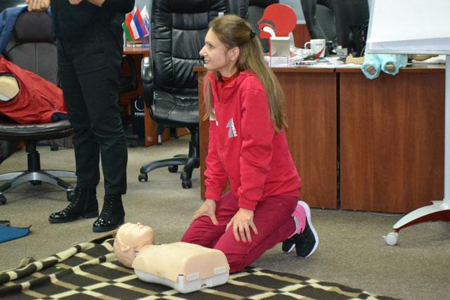 Практически отработанные навыки оказания первой помощи, как одно из требований стандарта SQAS